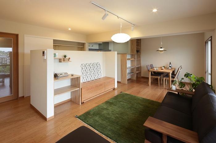 間取りと収納を兼ね備えたマンションリノベーション