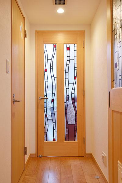 造作ドアの事例