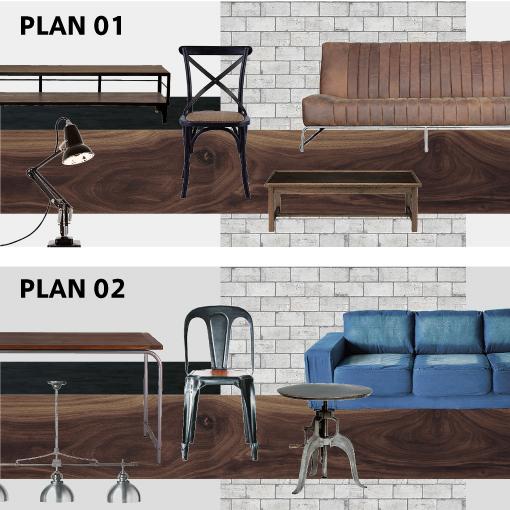 インテリア 家具で雰囲気が変わる プラン