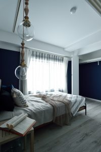フレンチテイスト 寝室 インテリア リノベーション