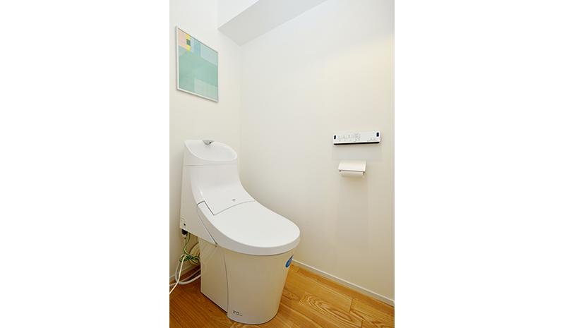 トイレ 内観 物件写真