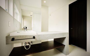 仙台のスタッフブログ:モルタル風な洗面台