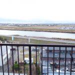 ラルシティ白鳥8階からの眺望