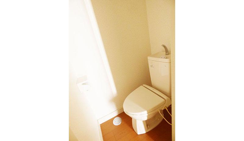 コーポ石名坂のトイレ