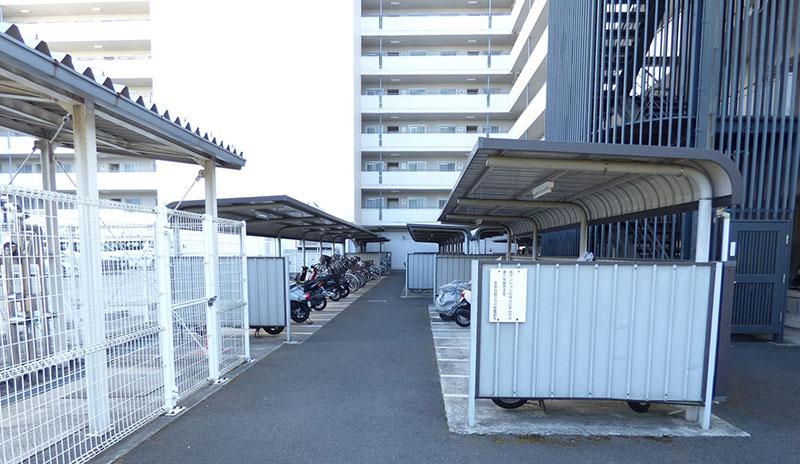 京急仙台プラザの駐輪場