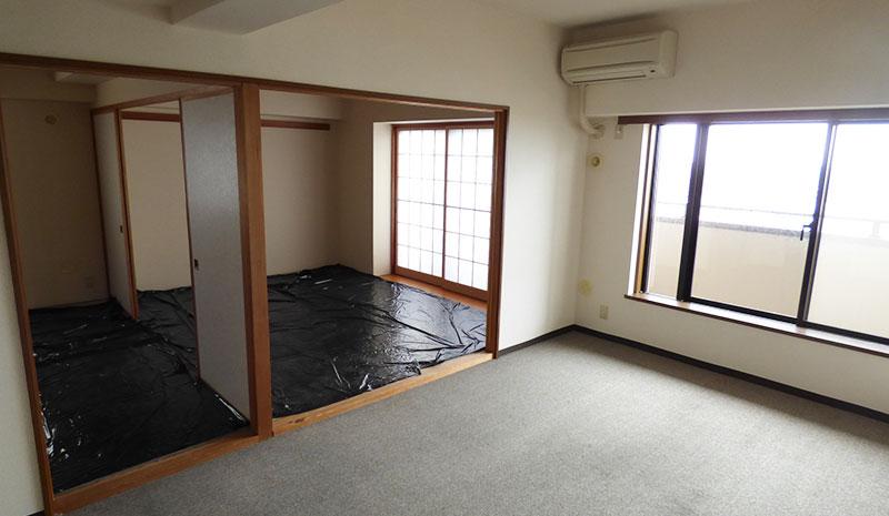 福室のリノベーション向き物件 明るい居室