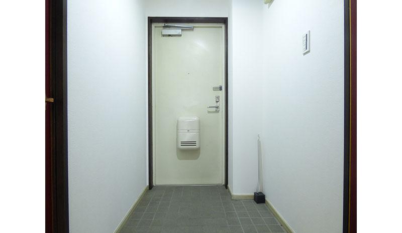 ユートピアレジデンス南仙台の玄関