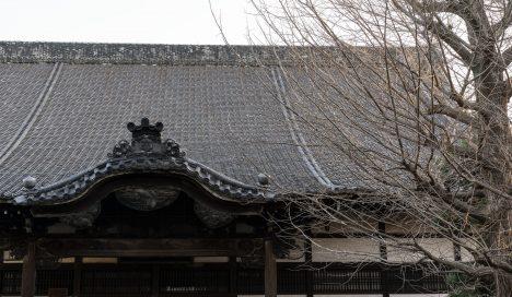 お寺が並ぶ新寺通の先にある物件です